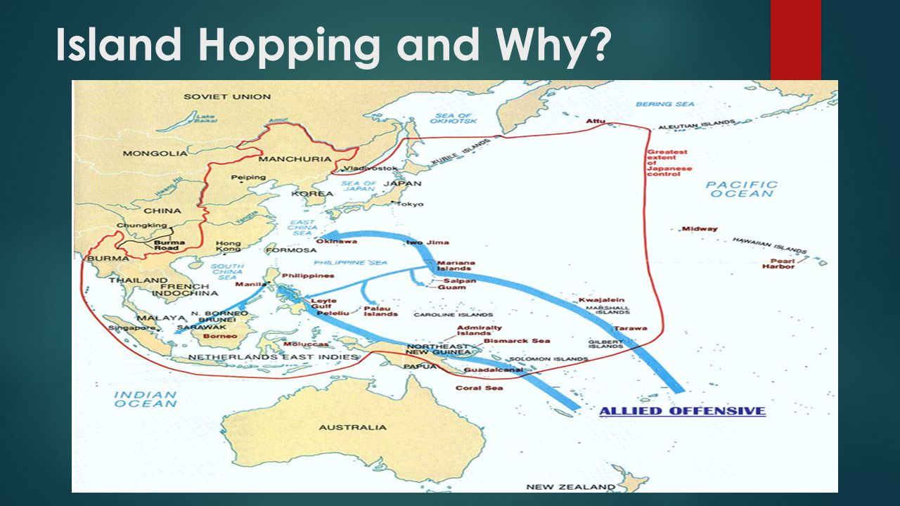 Island Hopping and Why?