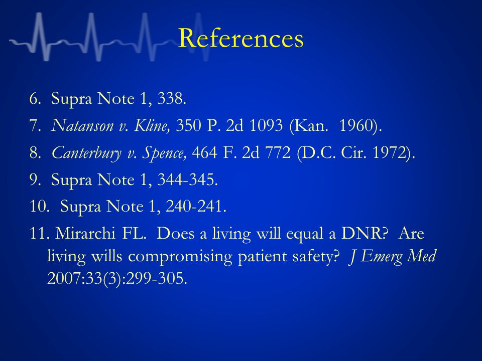 References 6. Supra Note 1, 338. 7. Natanson v.