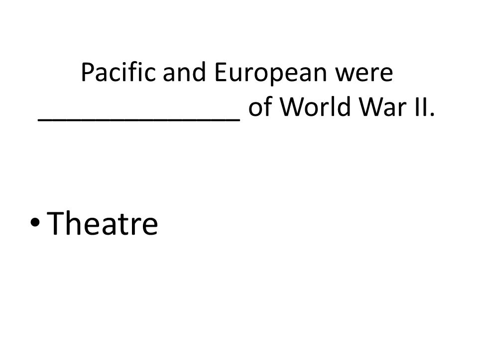 What are the main members of the Allies? France Great Britain Soviet Union U.S.