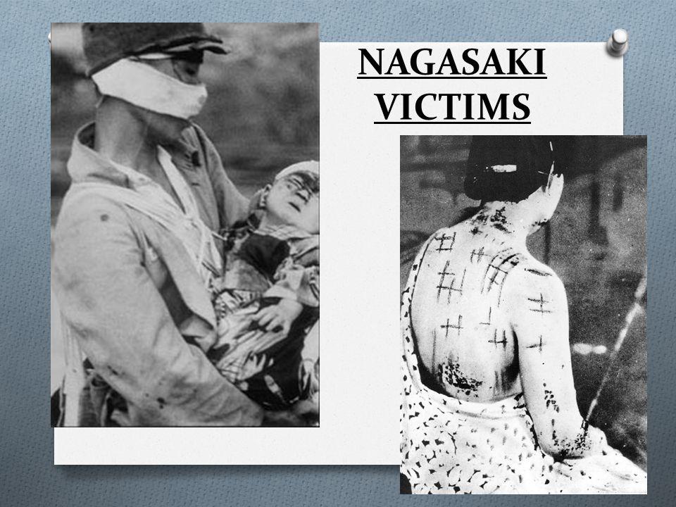 NAGASAKI VICTIMS