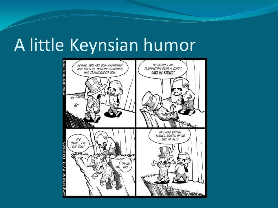 A little Keynsian humor