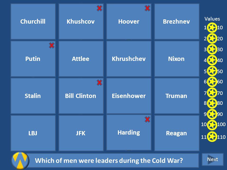 Cold War Challenge 1