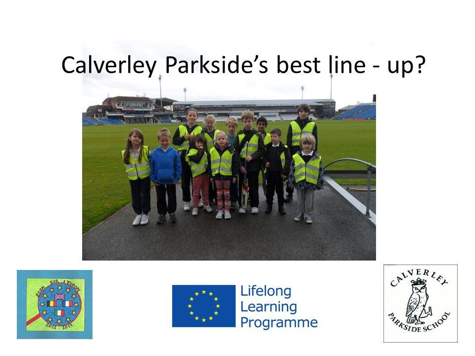 Calverley Parkside's best line - up?