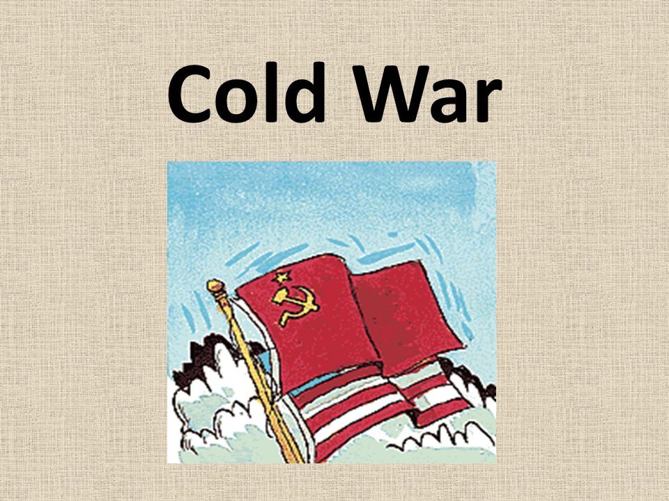 The state of hostility, without actual warfare that existed between the United States and the Soviet Union after World War II until the collapse of the Soviet Union.