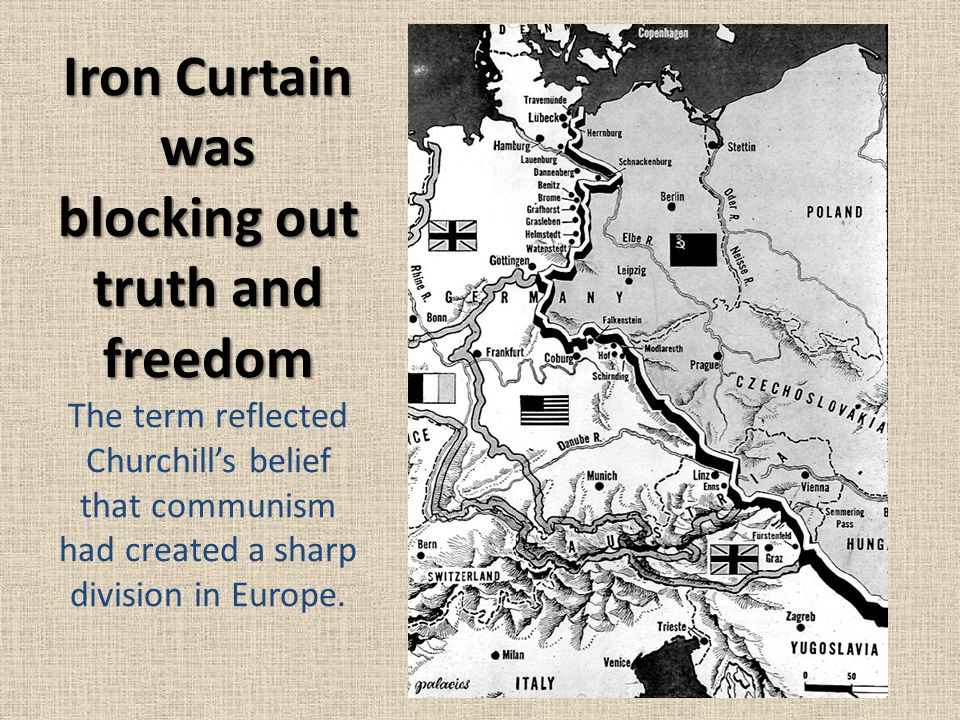Soviet Views of the Iron Curtain Stalin believed that the Iron Curtain was necessary to protect the Soviet Union from western attacks.