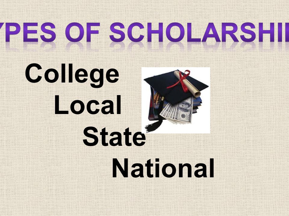 College Local State National