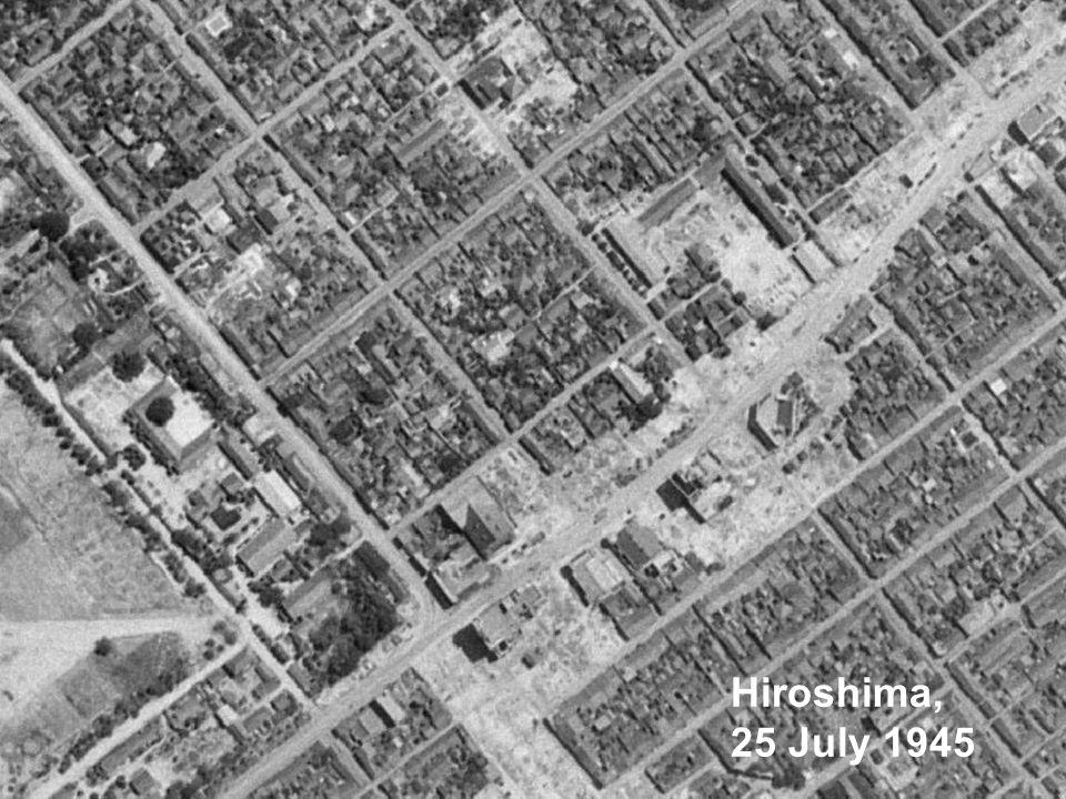 Hiroshima, 25 July 1945