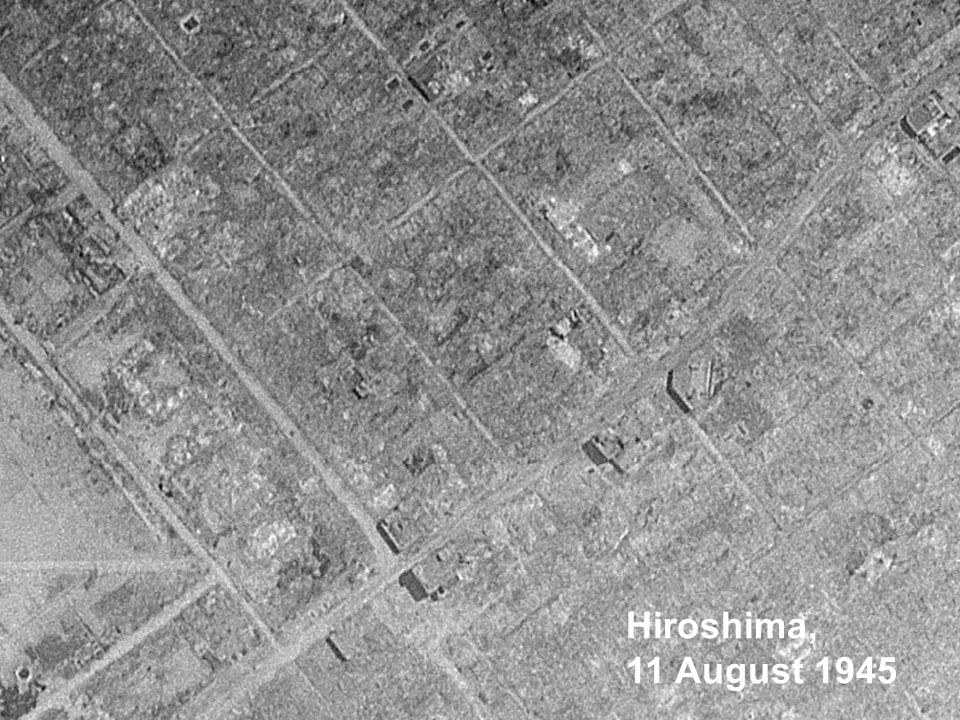 Hiroshima, 11 August 1945