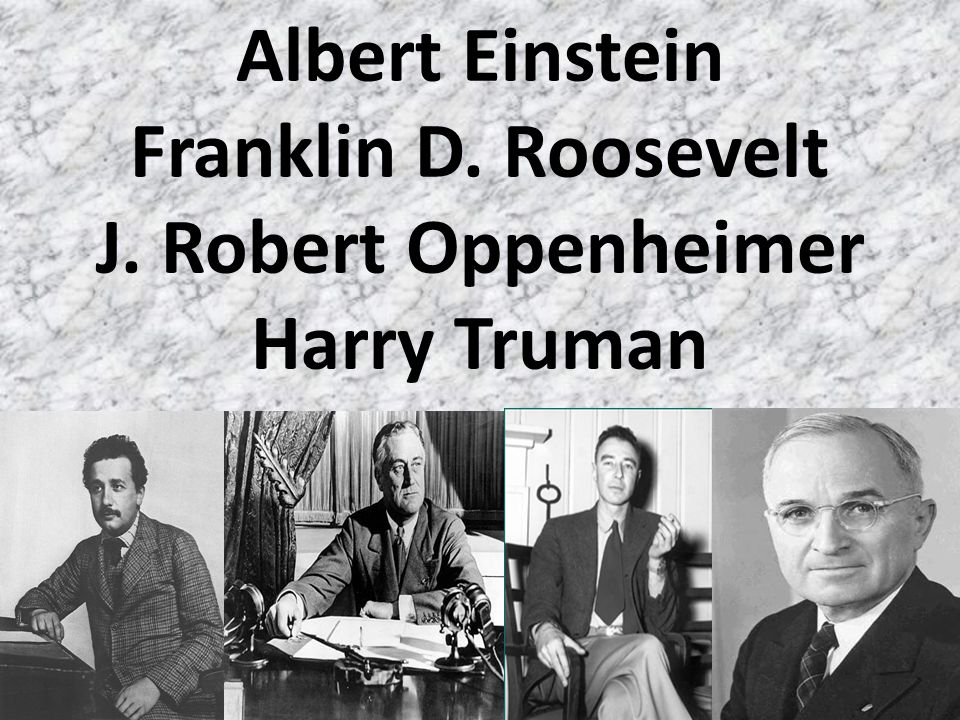 Albert Einstein Father of Quantum Physics- E=mc 2 Letter to Roosevelt This new phenomenon would also lead to the construction of bombs, and it is conceivable...