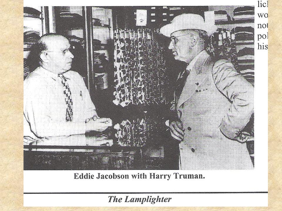 The Big Show-Down Meeting Secretary Marshall and his aid Robert Lovett President Truman President's aid Clark Clifford