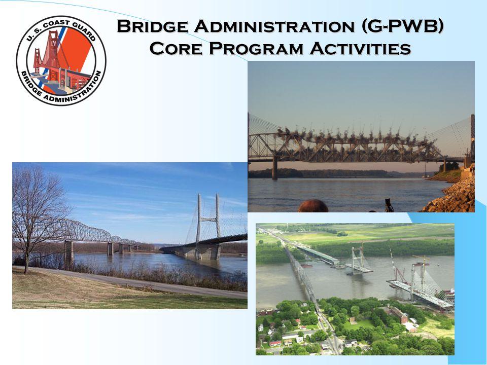 Bridge Administration (G-PWB) Core Program Activities