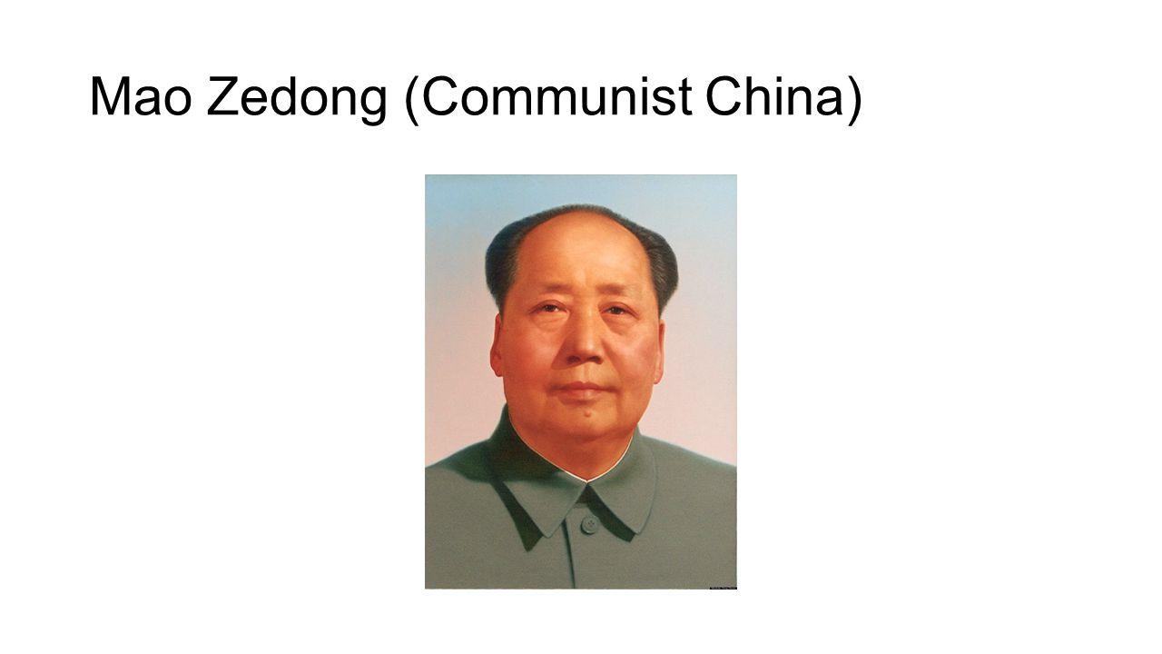 Mao Zedong (Communist China)