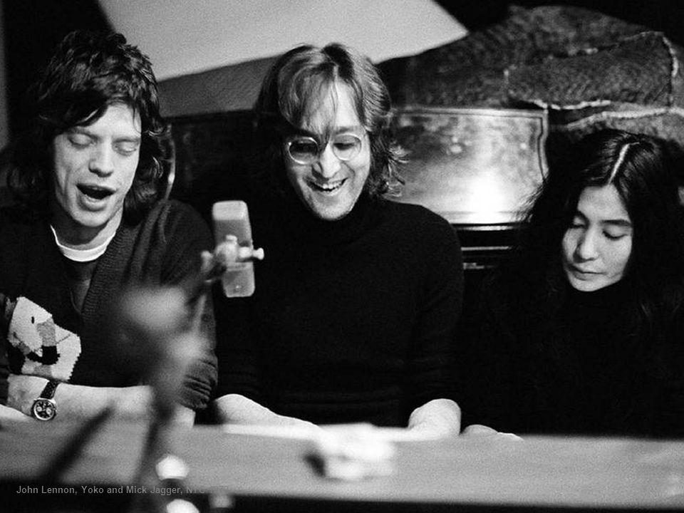 John Lennon and Yoko Ono, NYC, 1973
