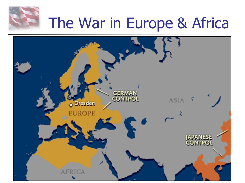 The War in Europe & Africa