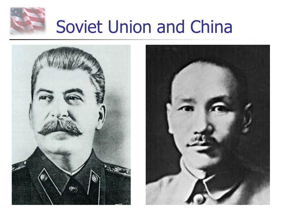 Soviet Union and China