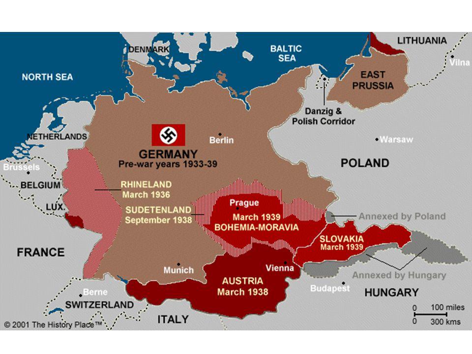 Word War II: 1939 Invasion of Poland September 1, 1939 German Pre-text Blitzkrieg Lightening War War Declared Allies: Great Britain & France September 3, 1939