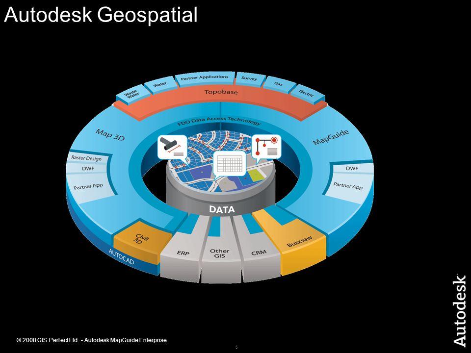 5 © 2008 GIS Perfect Ltd. - Autodesk MapGuide Enterprise Autodesk Geospatial