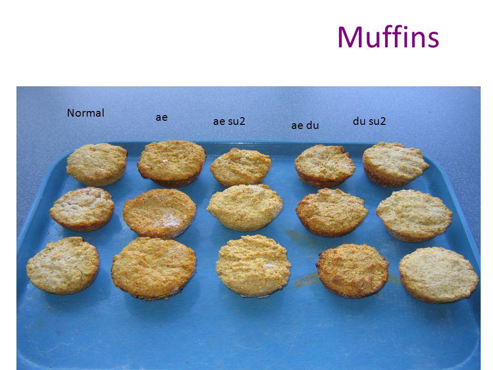 Muffins Normal ae su2 ae du ae du su2