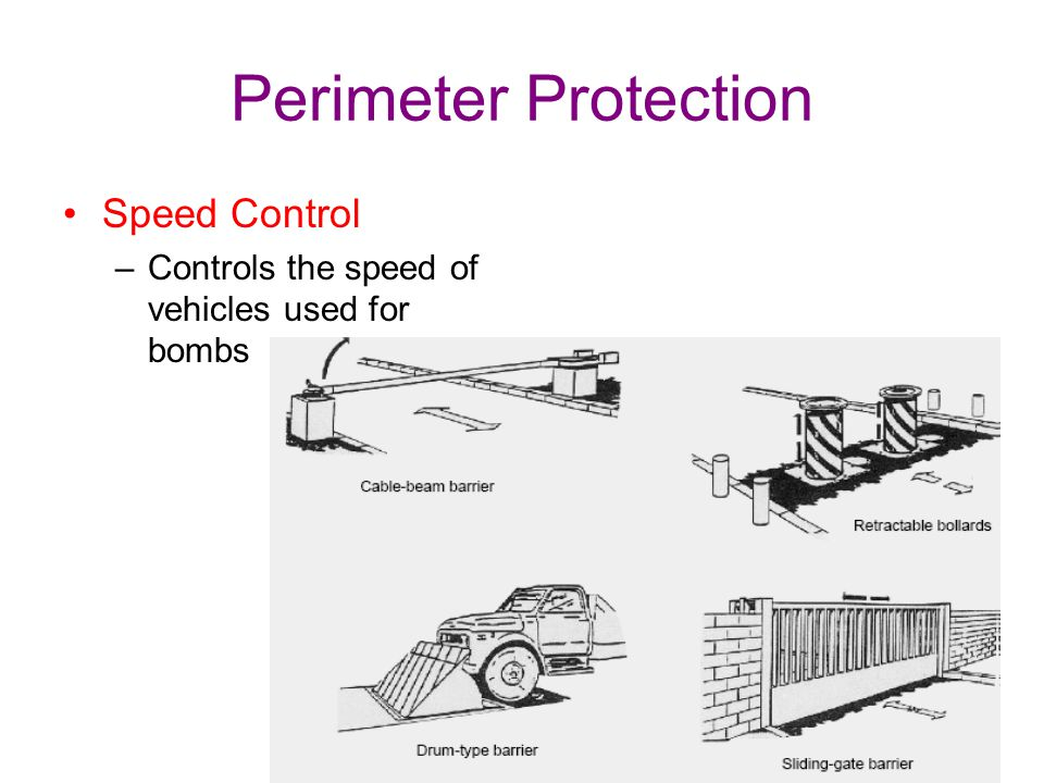 Perimeter Protection Vehicle barriers