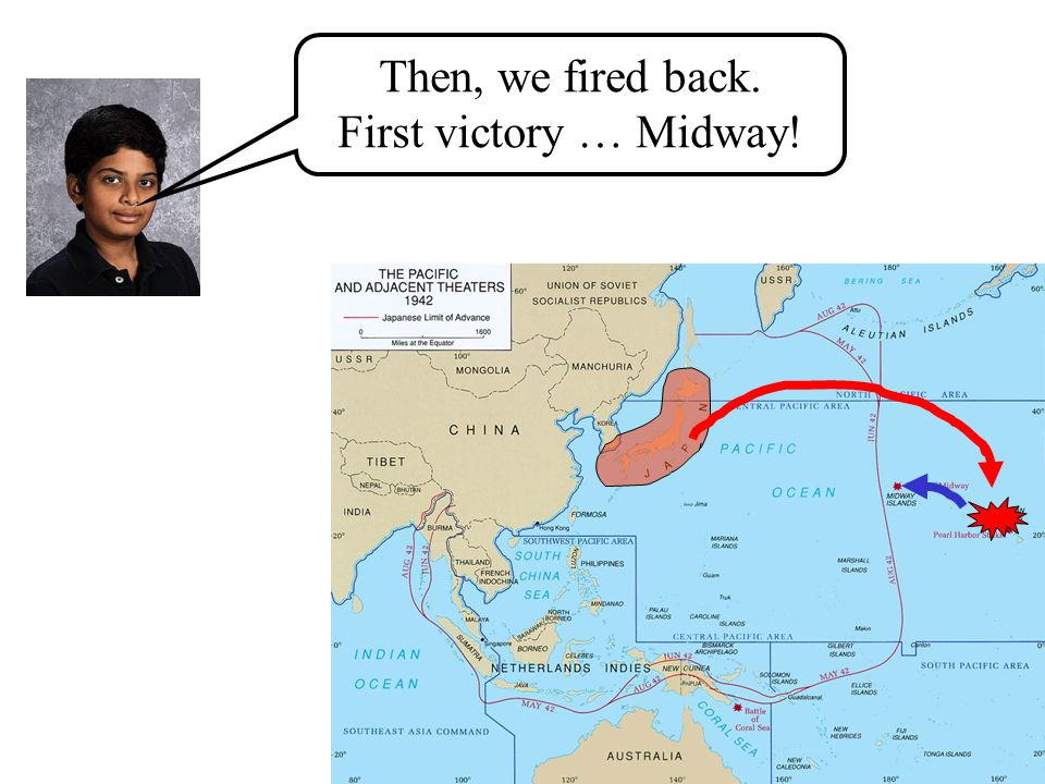 First, Japan bombed us! Bad Japan!