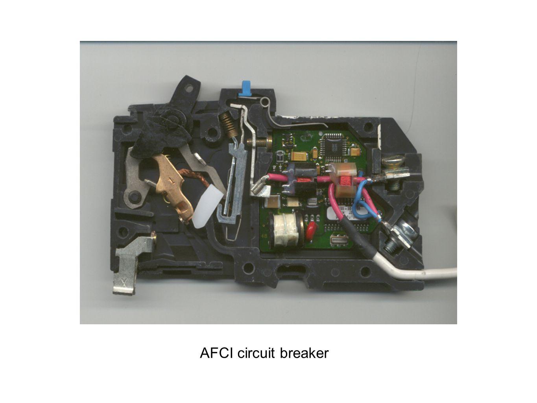 AFCI circuit breaker