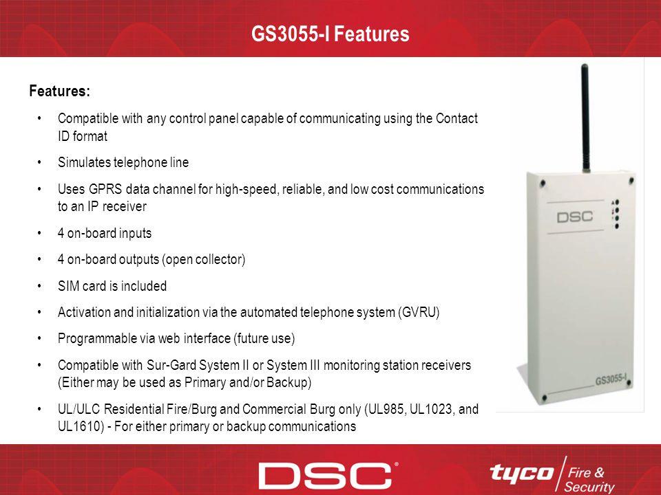 CONFIDENTIAL GS3055-I Communications Flow Chart