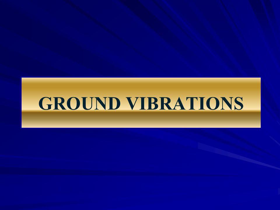 GROUND VIBRATIONS