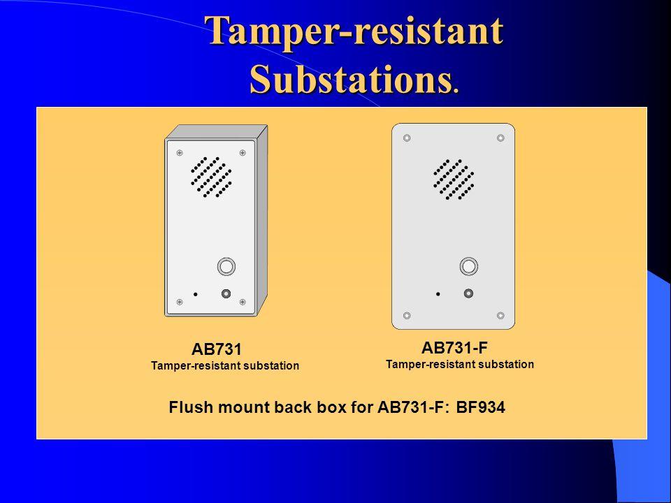 Multipurpose Unit BC735 Splash proof, surface mounting station, requires external loudspeaker Splash proof, surface mounting station, requires externa