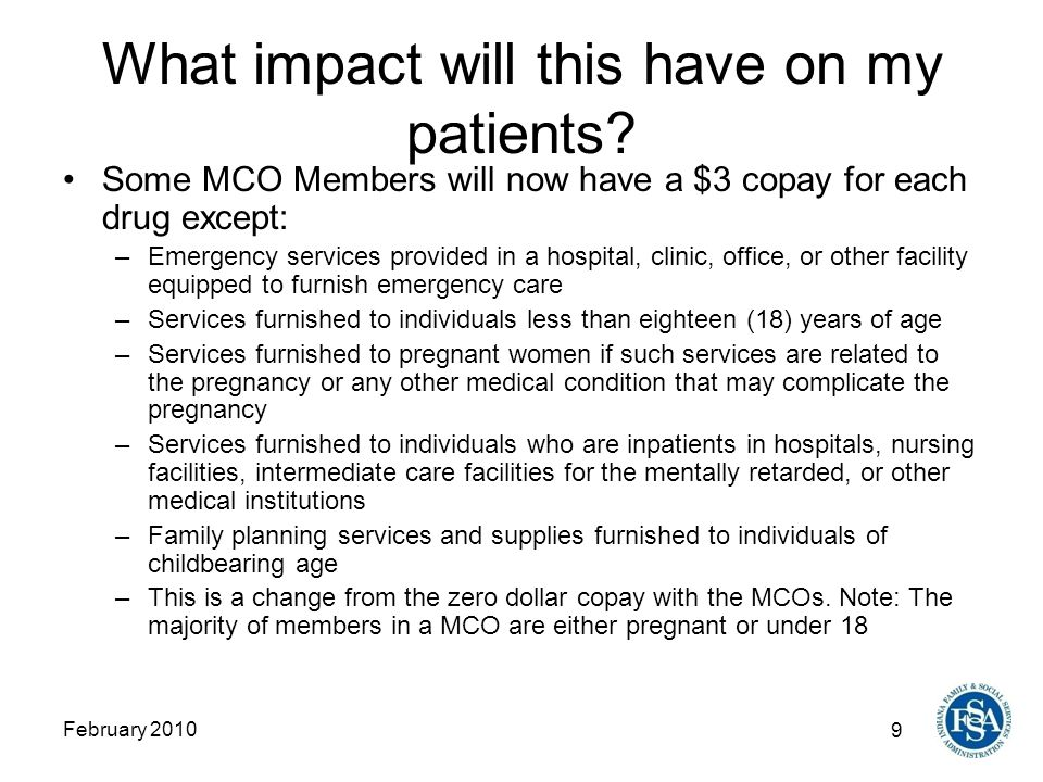 9 February 2010 What impact will this have on my patients.