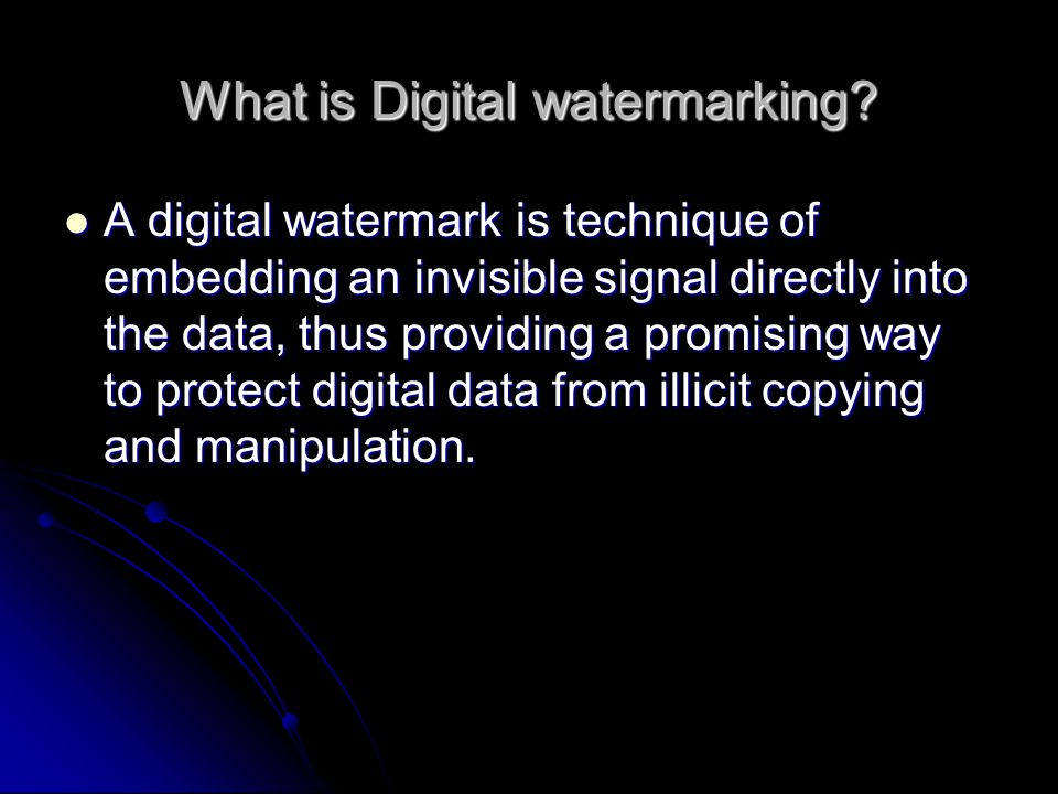 Why is it required.It is used to detect data tampering and illicit copying of data.