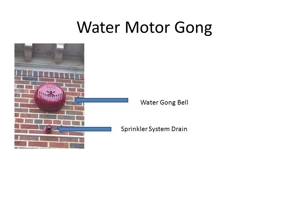 Water Motor Gong Water Gong Bell Sprinkler System Drain