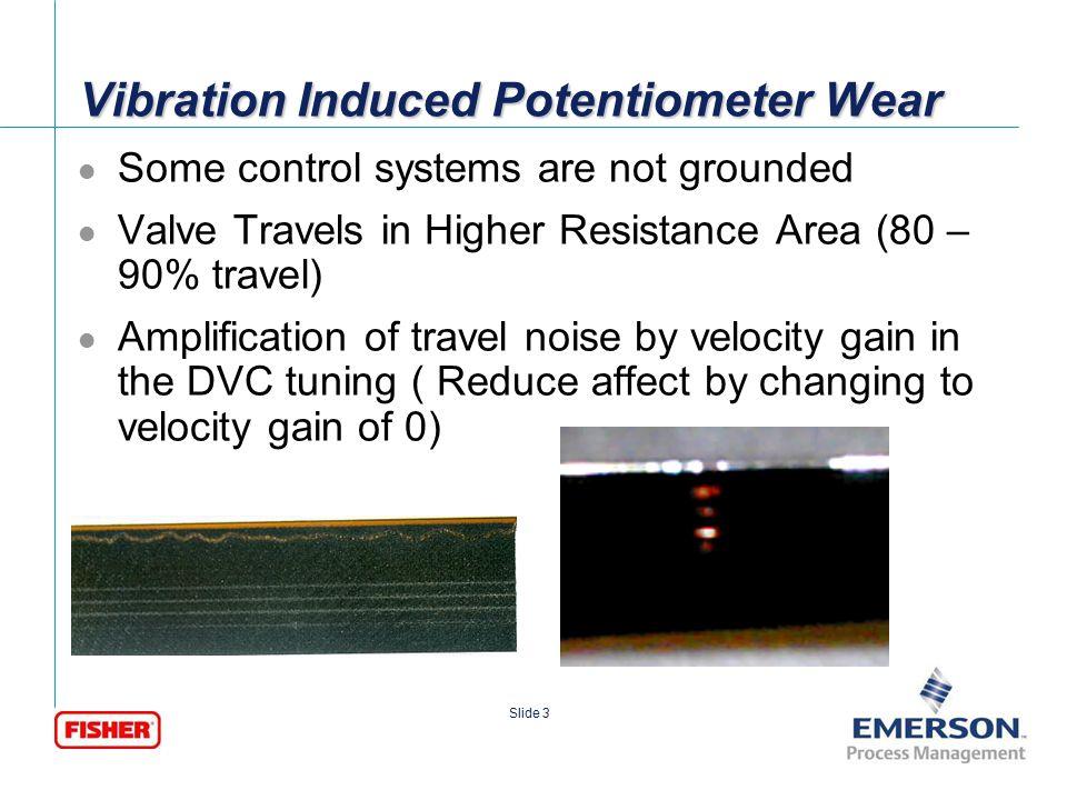 [File Name or Event] Emerson Confidential 27-Jun-01, Slide 4 Slide 4 No Potentiometer Wear
