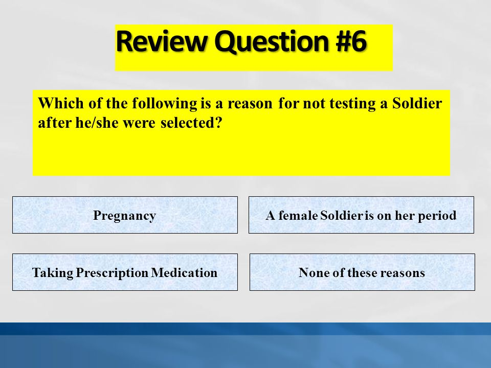 Review Question #5 What is the most important action that ANYONE can take to prevent the transmission of disease is… Wear GlovesDisinfect their work a
