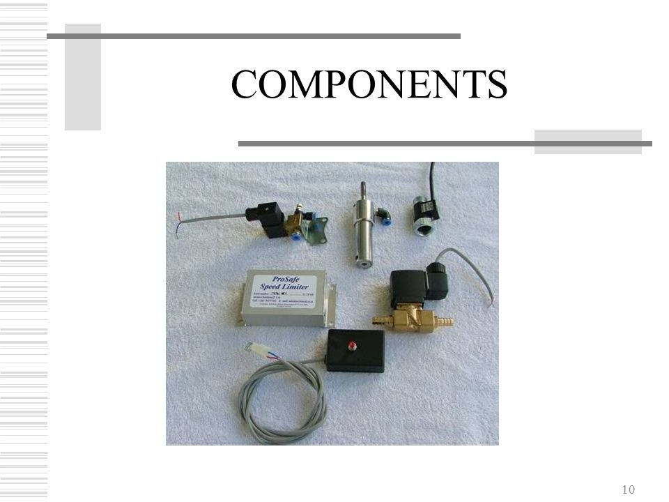 10 COMPONENTS
