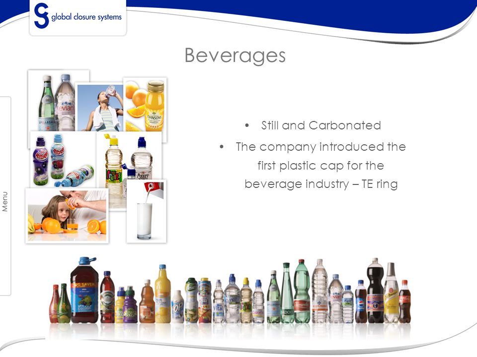 Beverages GCS Overview GCS Core Values Locations Organizational Set Up Our Brands Milestones Our Customers Key Products Innovation and NPD Manufact.