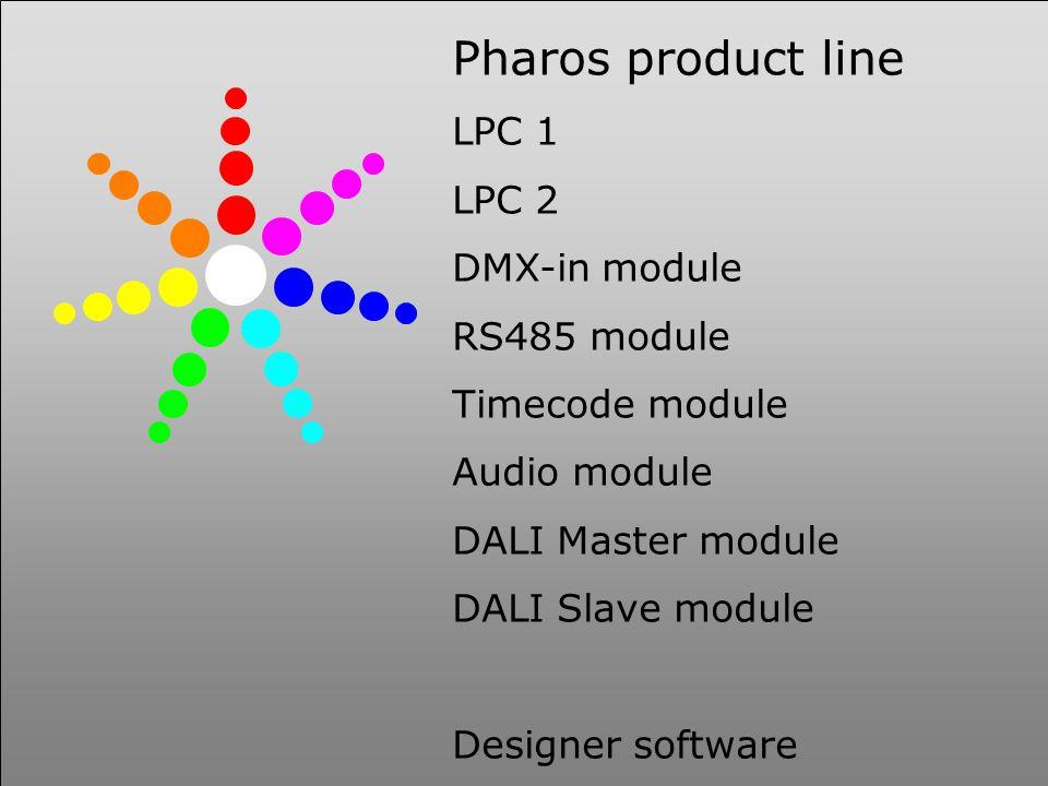 PHAROS ARCHITECTURAL CONTROLS Winding Wheel 9-48v dc LEDs DMX GPRS text msg converter RS232 PIR Tamper switch Klaxon Camera Alarm