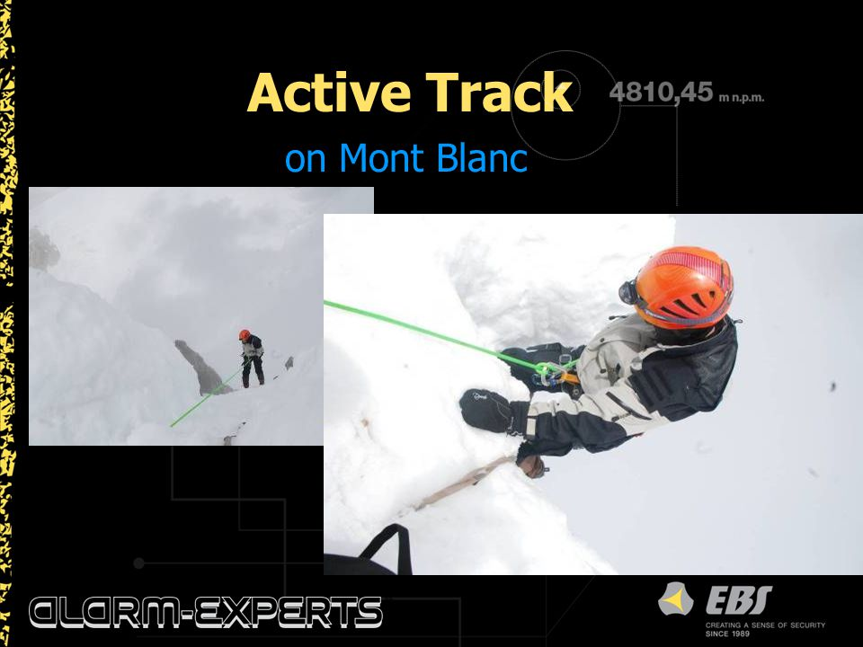 Active Track on Mont Blanc