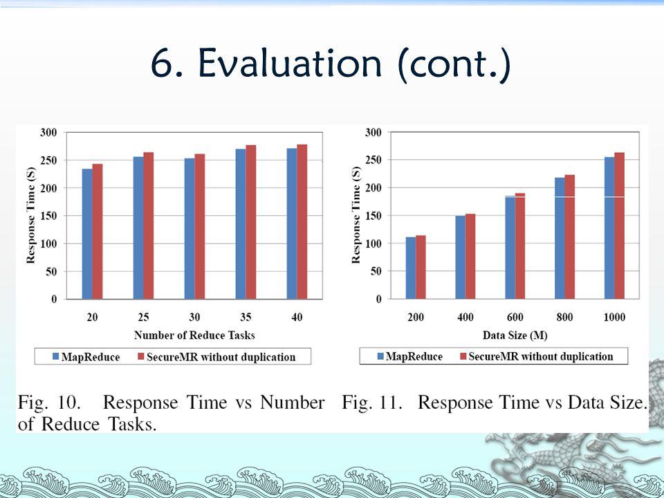 6. Evaluation (cont.) 25