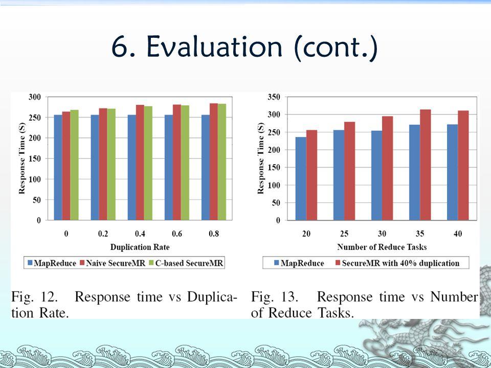6. Evaluation (cont.) 26