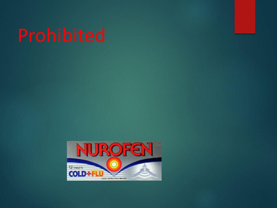 Prohibited