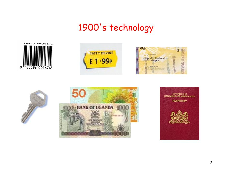 2 1900's technology