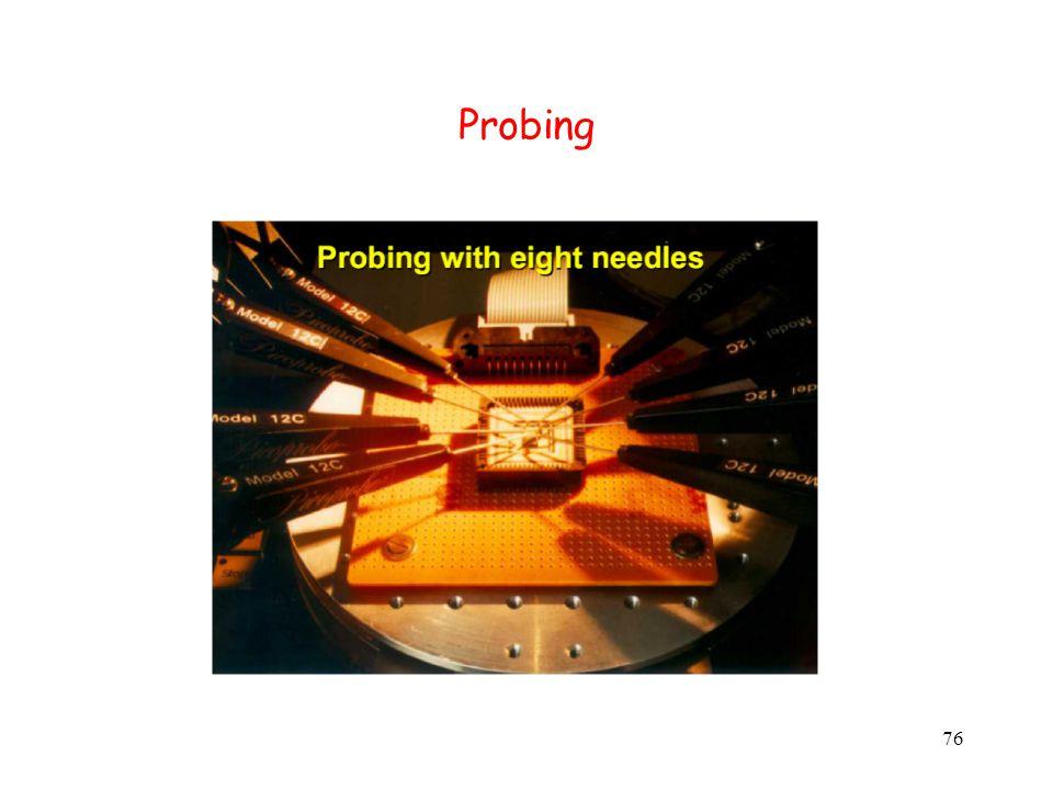 76 Probing