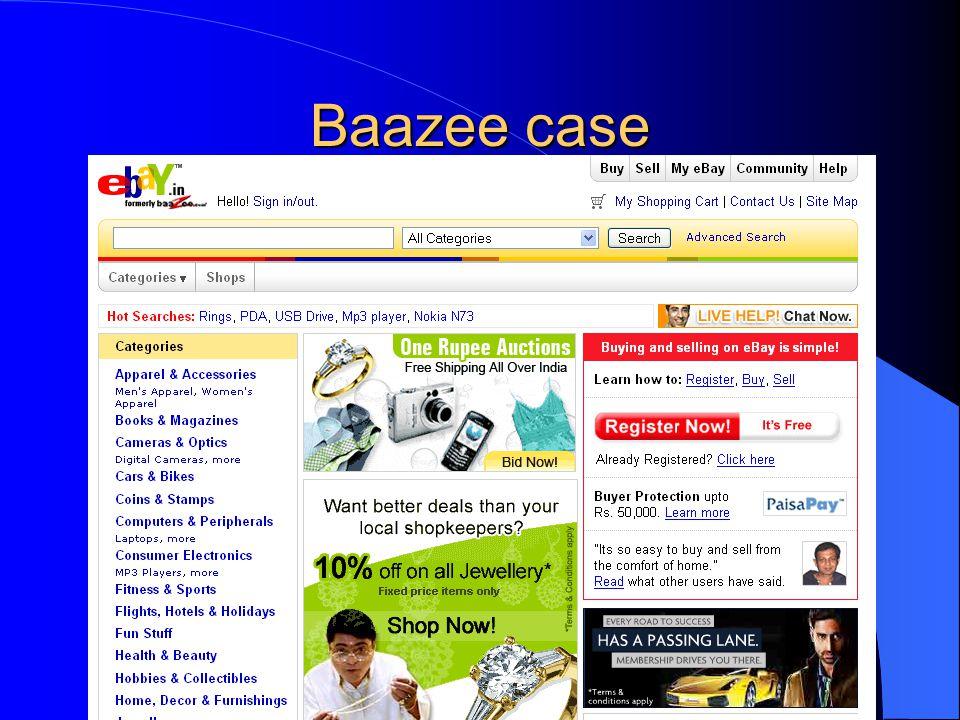 Baazee case
