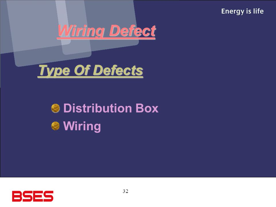 32 Wiring Defect Type Of Defects Distribution Box Wiring