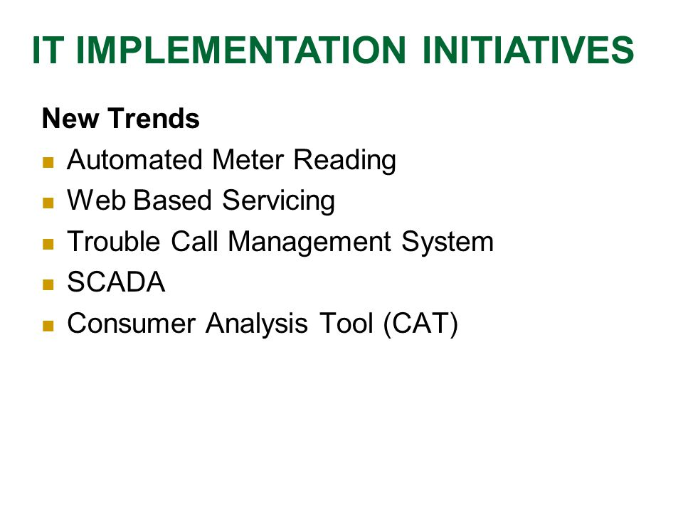 IT in System Planning  Load forecast is an important parameter for system planning  Requires accurate data of the system like energy consumption for last 10 years, maximum demand  Methods of load forecast  Trends: The trends for the growth in energy and consumption are computed based on the past data are  To forecast the future demand / energy IT IN SYSTEM PLANNING