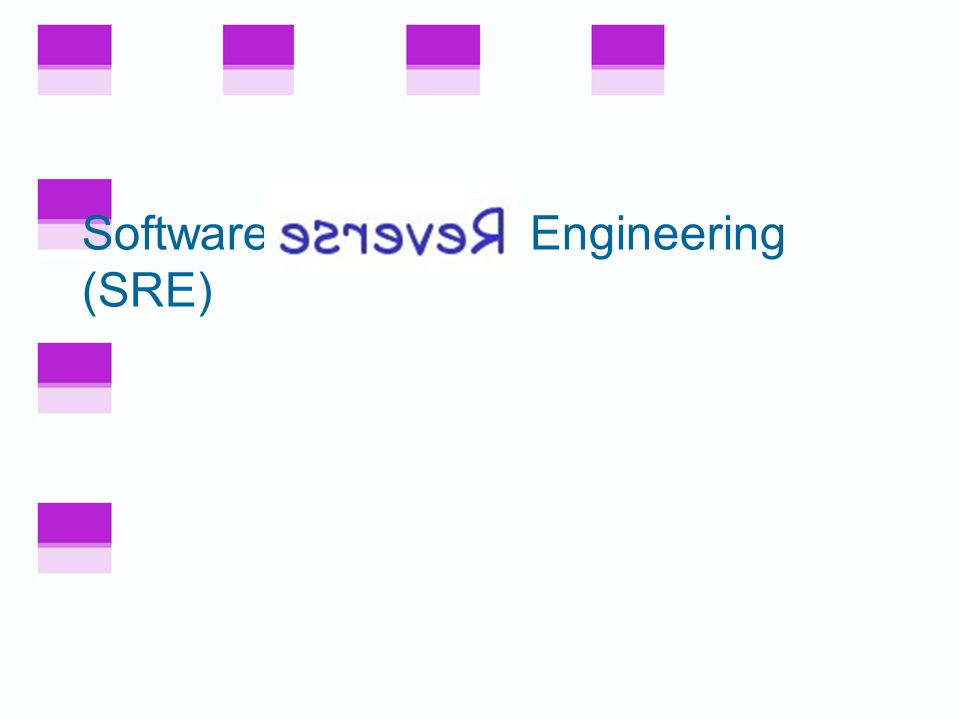 Computer Science 654 Lecture 5: Software Reverse Engineering Professor Wayne Patterson Howard University Spring 2009