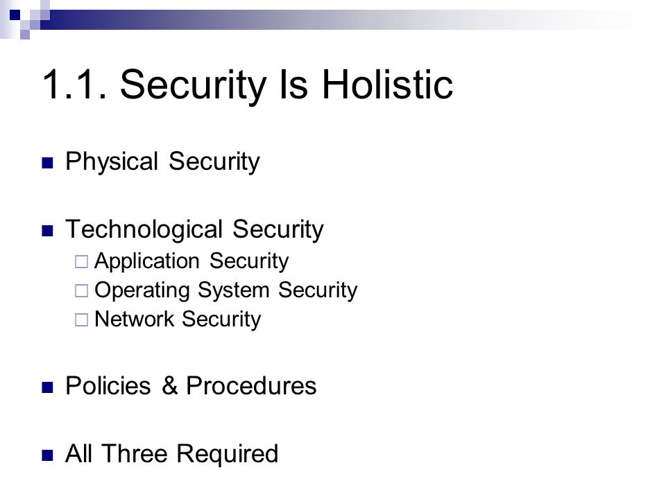 1.9. Concepts at Work (1) Is DVD-Factory Secure? PCs-R-US Bob DVD- Factory orders parts B2B website