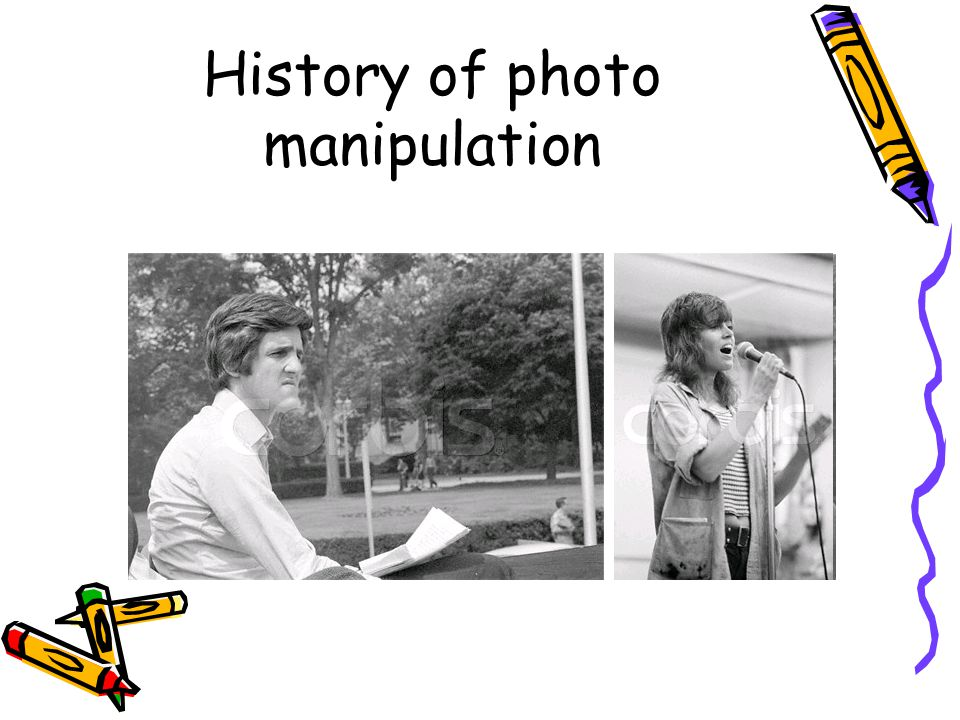 History of photo manipulation