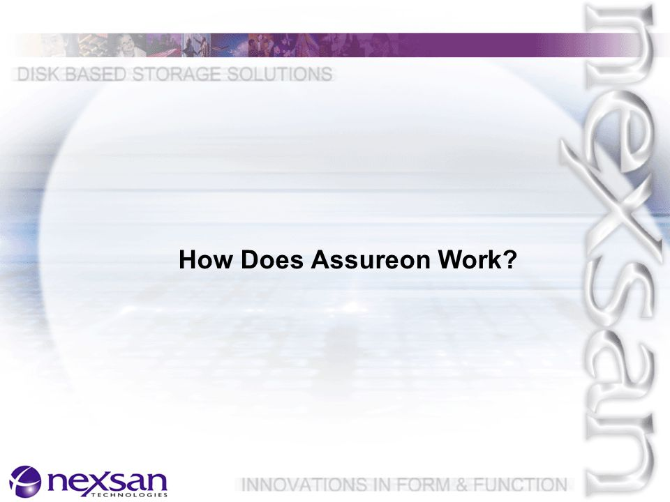 How Does Assureon Work