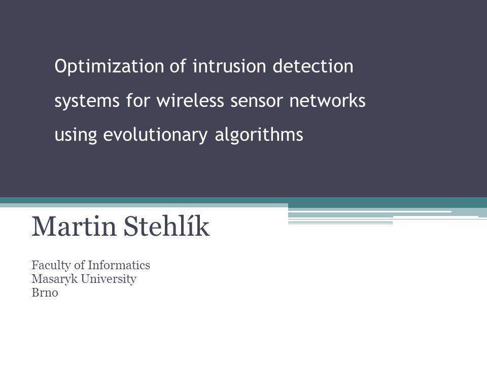 Optimization engine Input: statistics from the simulator.